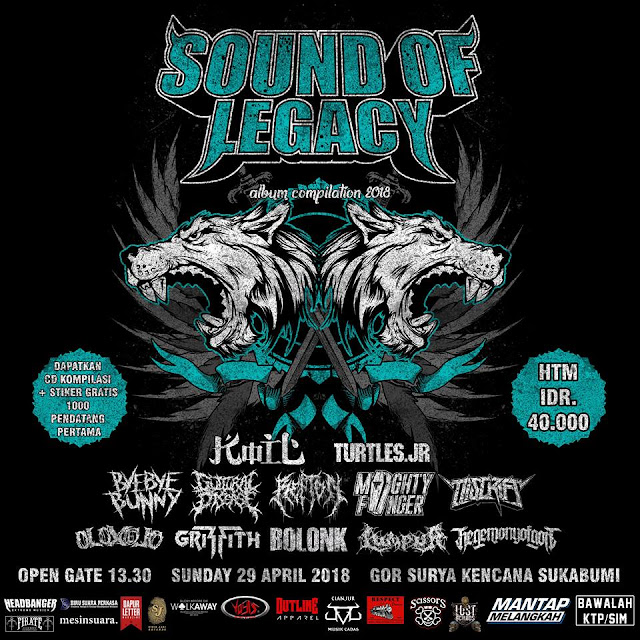 LAUNCHING ALBUM COMPILATION SOUND OF LEGACY 2018