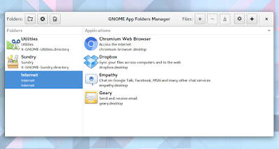 GNOME Appfolders Manager