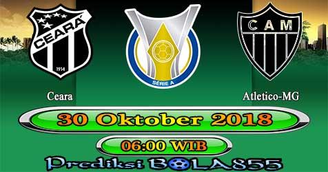 Prediksi Bola855 Ceara vs Atletico-MG 30 Oktober 2018