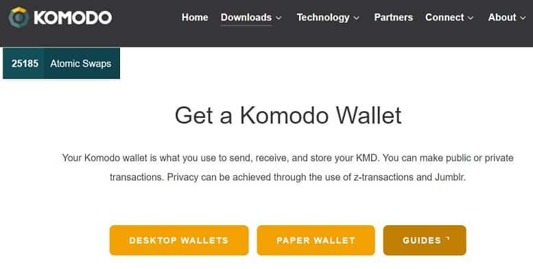 Abrir y Configurar Wallet Oficial moneda Komodo (KMD)