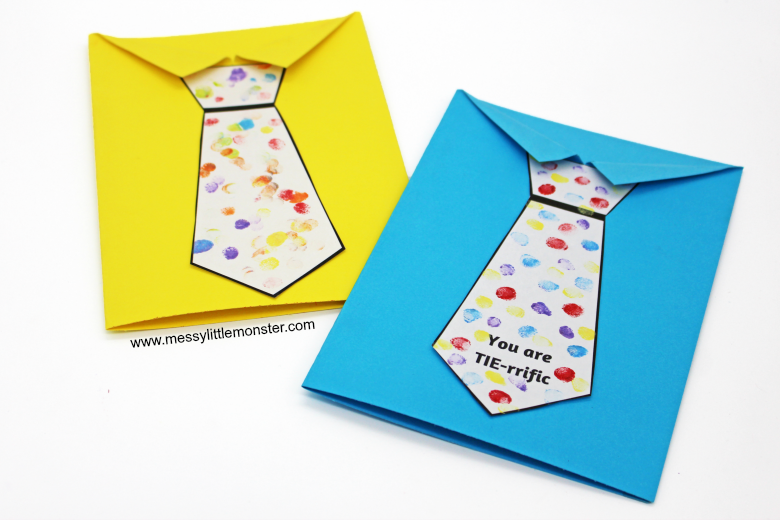 Father's Day Shirt and Tie Card