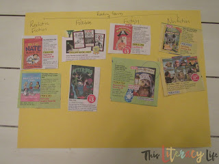 Book genres can be tricky for many students, but this simple and fun way to sort will have kid begging for more books!