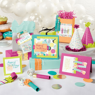 Stampin' Up! Picture Perfect Birthday Stamp Set ~ 2018 Occasions Catalog