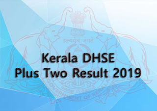 Plus two result, Kerala +2 result check, DHSE result 2019, Kerala HSE plus two result 2019