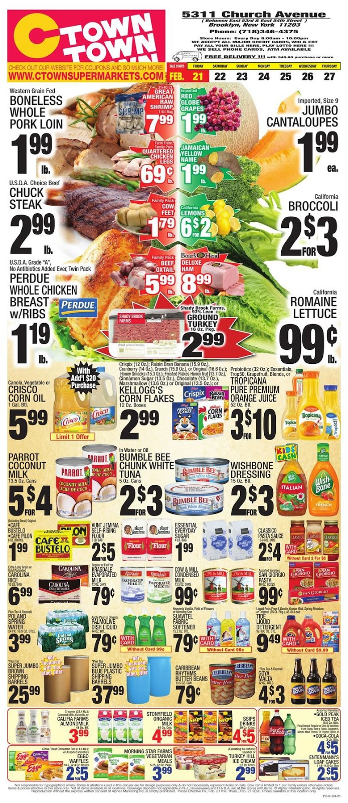 ⭐ CTown Ad 2/28/20 ⭐ CTown Weekly Ad February 28 2020
