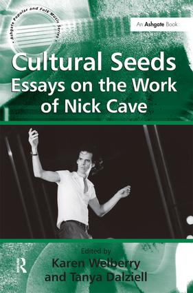 nick cave essay This is australian singer-songwriter nick cave addressing an audience in 1999 on the subject of 'the secret life of the love song.