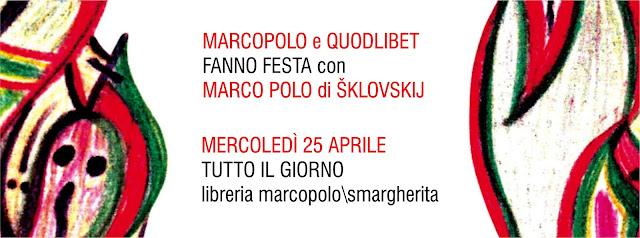 Per San Marco festeggiamo Marco Polo - mercoledì 25 aprile