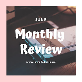 12 Months Bujo challenge June by ewafebri