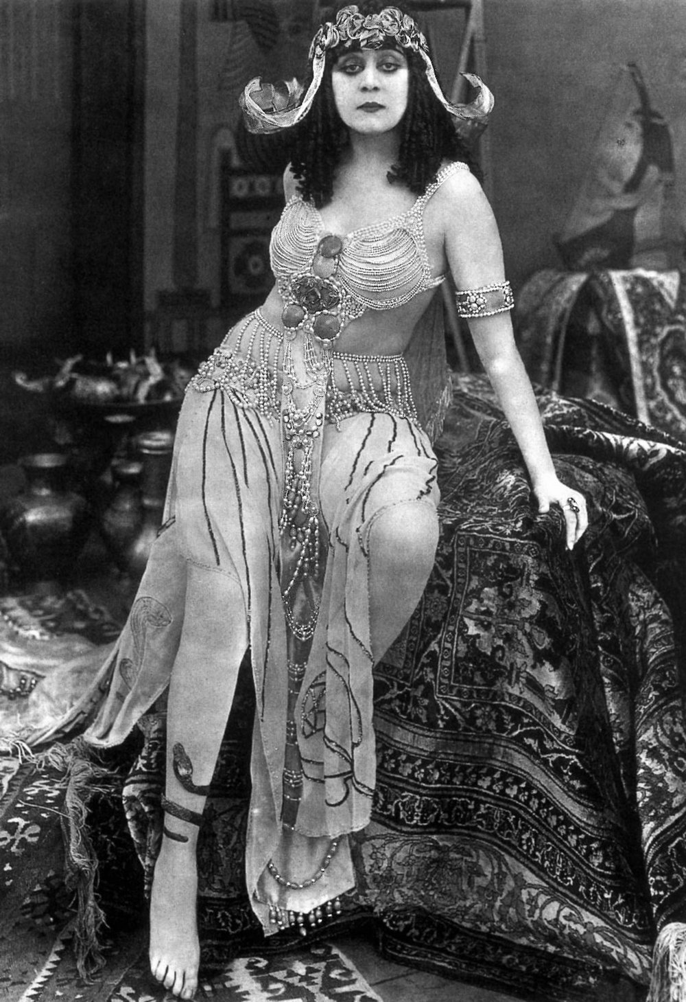 Theda Bara might be the most significant celebrity pioneer whose movies you've never seen.