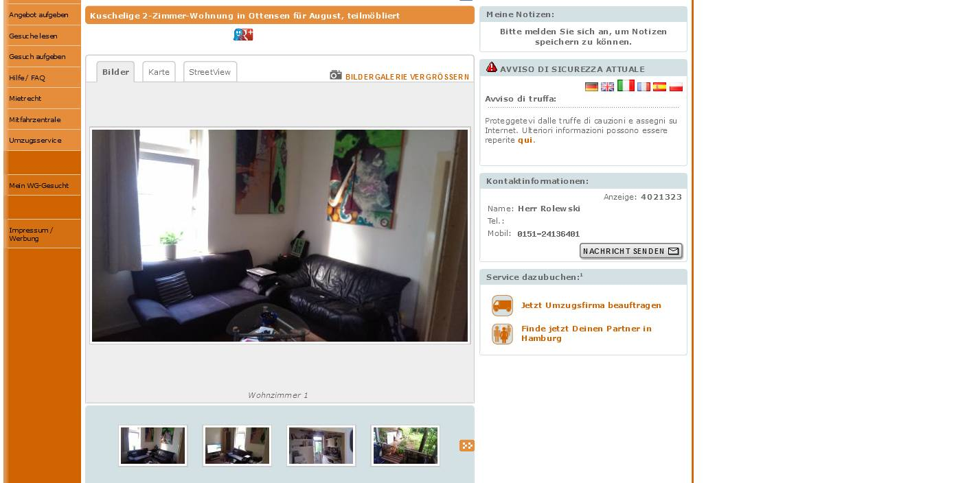 Suche  Zimmer Wohnung In Hamburg