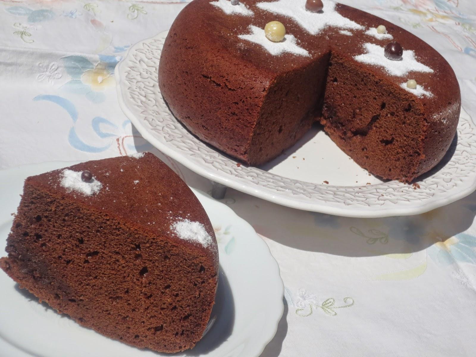 Bizcocho de chocolate (Selva Negra) olla GM