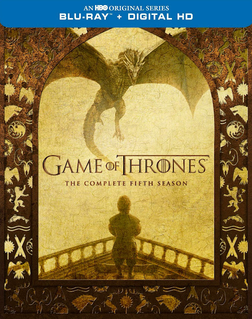 dvd cover for Game of Thrones fifth season