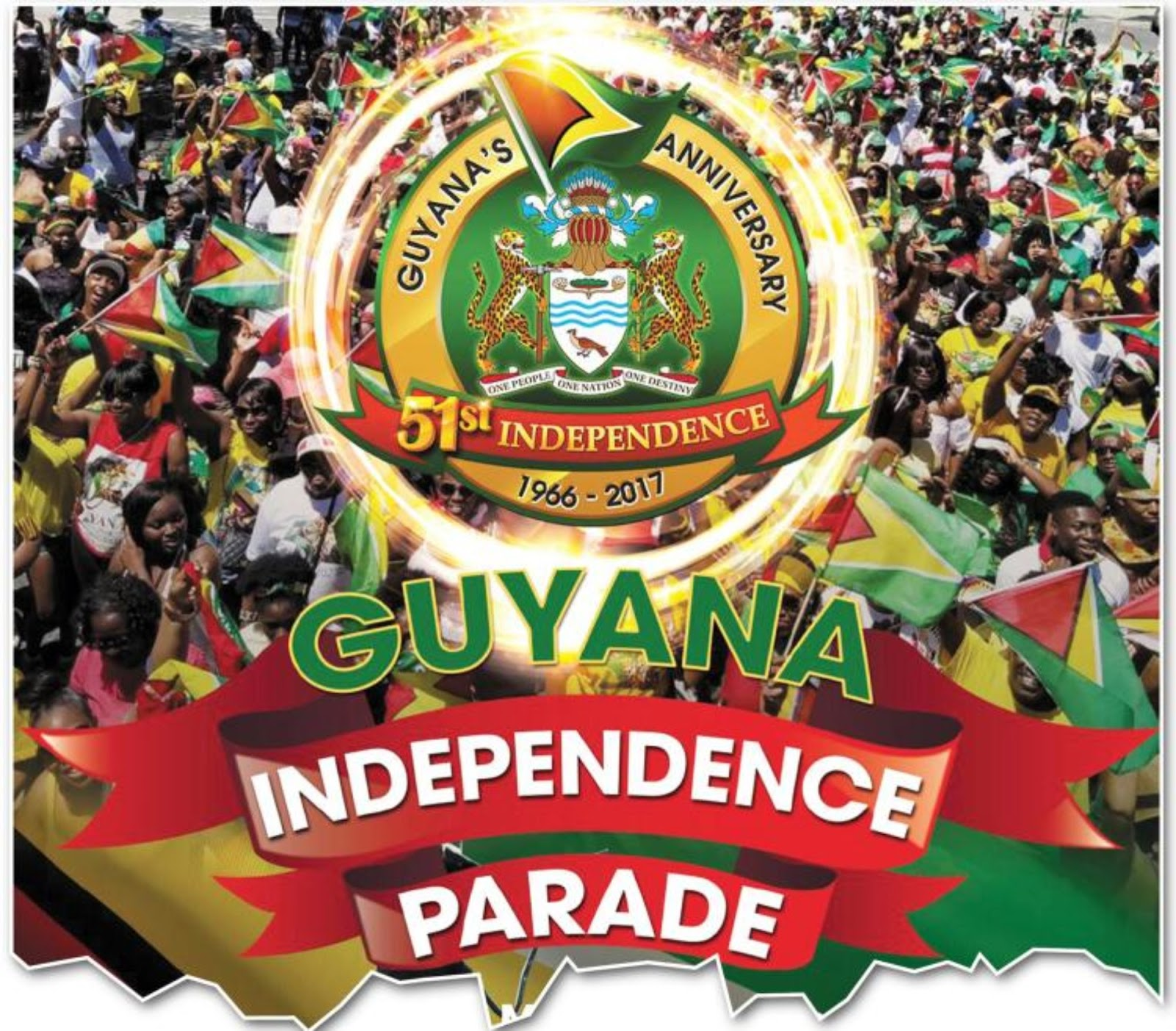 WORDS FROM MURPHY BROWNE: GUYANA INDEPENDENCE DAY MAY 26