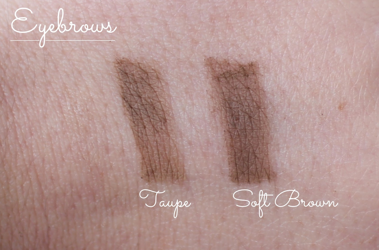 smashbox shapematters palette eyebrow swatch