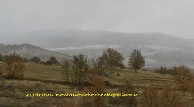 Primera nevada en la sierra de Guadarrama, temporada 2013-2014