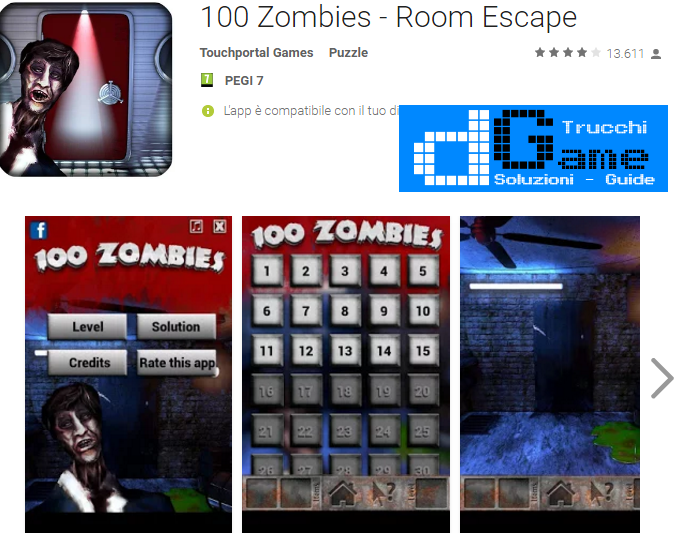Soluzioni 100 Zombies livello 51-52-53-54-55-56-57-58-59-60 | Trucchi e Walkthrough level
