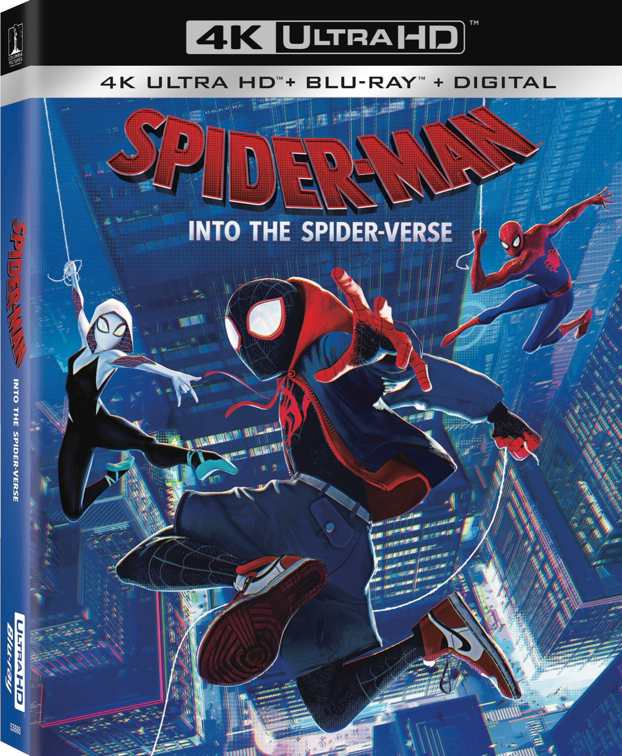 Spider Man Into The Spider Verse Arrives On Digital 2 26 And 4k Blu Ray Dvd 3 19 Mommy S Block Party