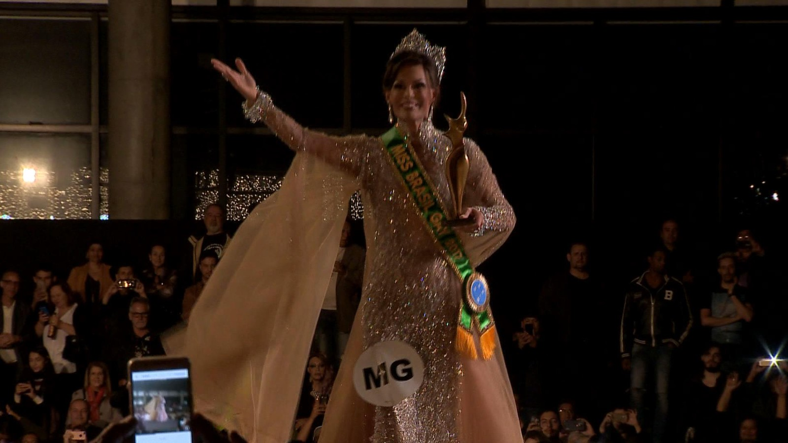 Guiga Barbieri, de Minas Gerais, vence a 37ª edição do Miss Brasil Gay
