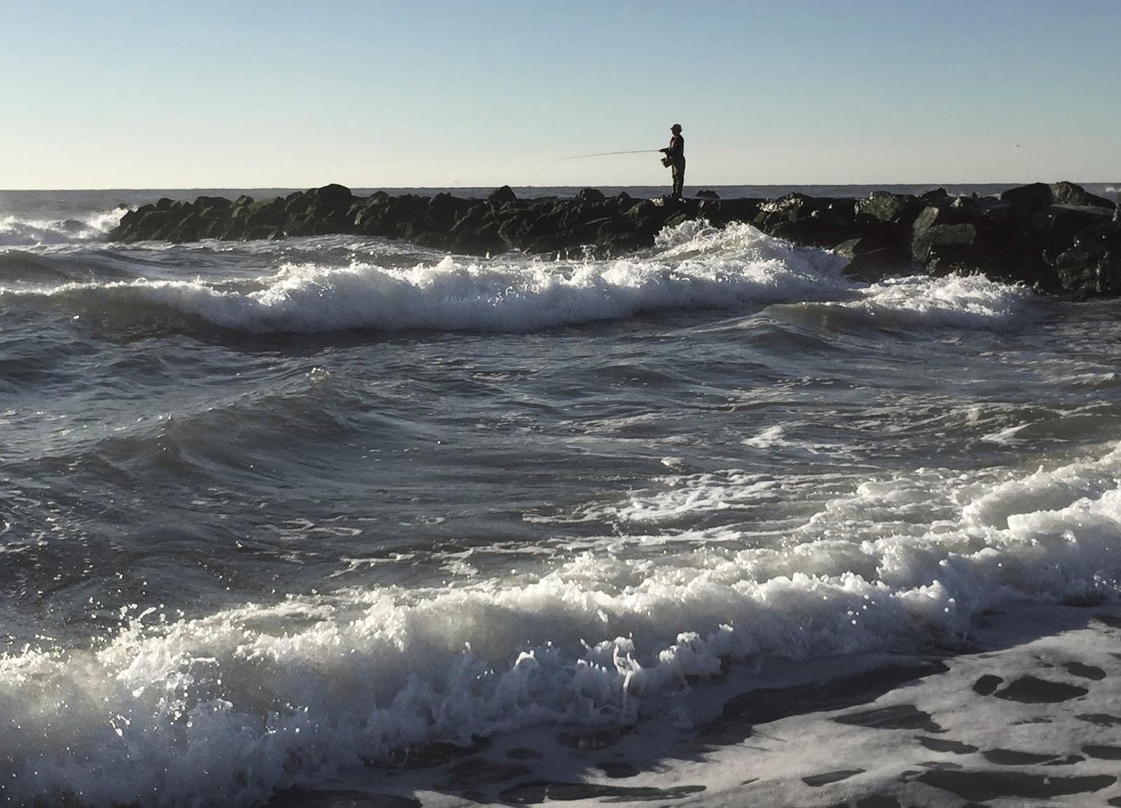 The average angler fall along the jersey shore for Nj shore fishing
