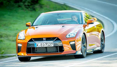 2017 Nissan GT-R Review  top gear