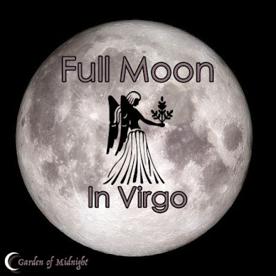 fasi lunari luna piena vergine