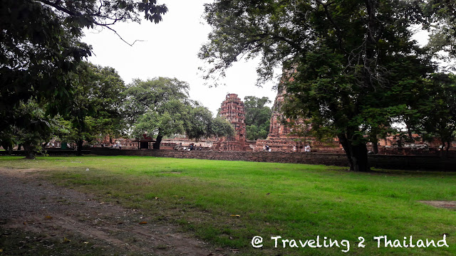 Temple ruins in Ayutthaya, Thailand