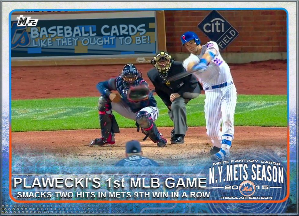 Mets Baseball Cards Like They Ought To Be I Promised A Plawecki