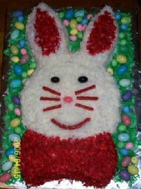 Frugal Family Recipes: Easter Bunny Cakes