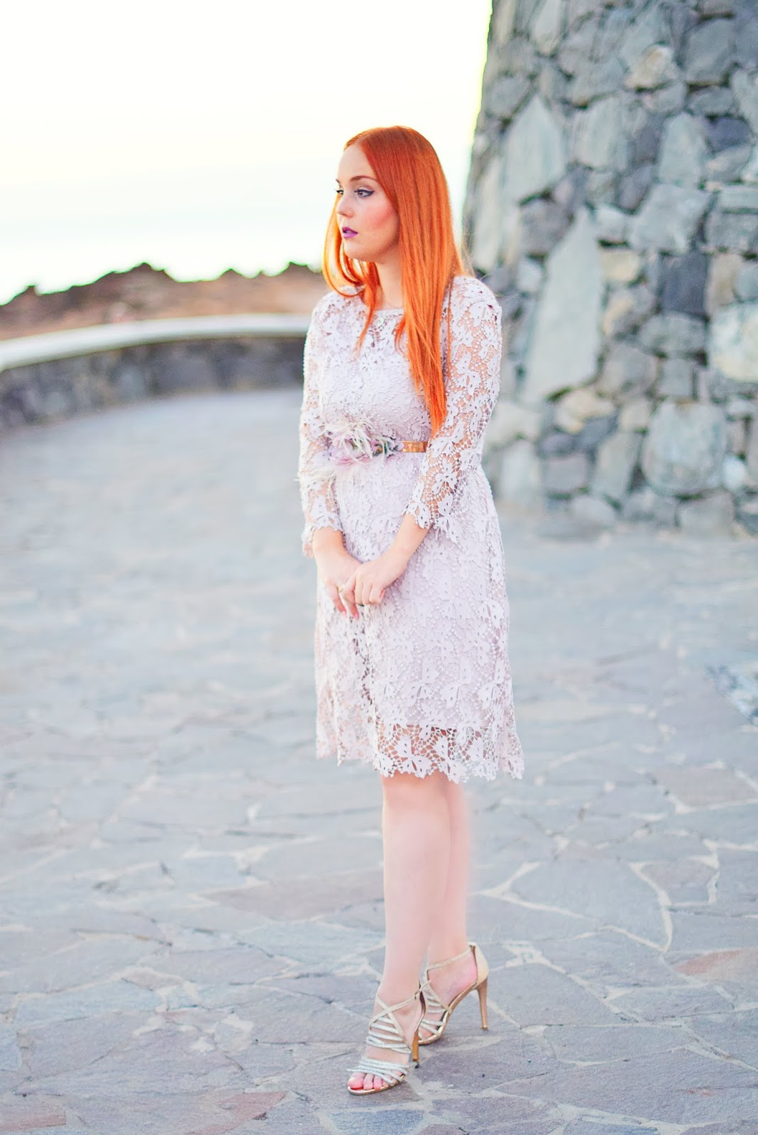 Nery hdez, evatrends, lace dress, outfit for chritsmast , look para navidad