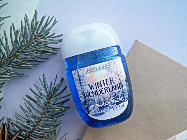 "Bath & Body Works Anti-Bacterial Hand Gel ""Winter Wonderland"""