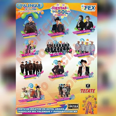 palenque mexicali 2018