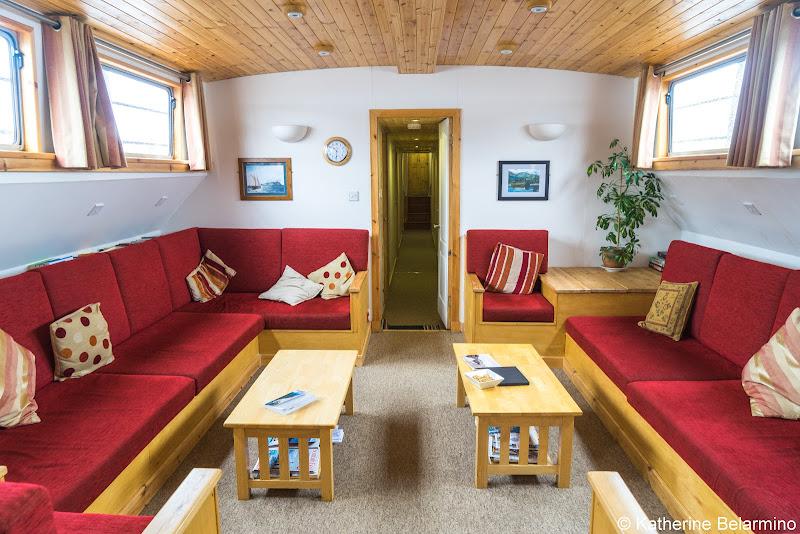 Ros Crana Living Room Scotland Cruise Caledonian Discovery