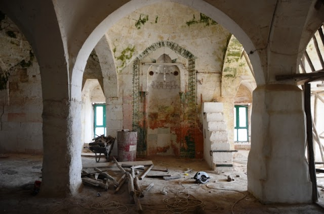 Çarmelik Kervansarayı restore ediliyor