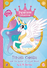MLP Princess Celestia and the Summer of Royal Waves Book Media