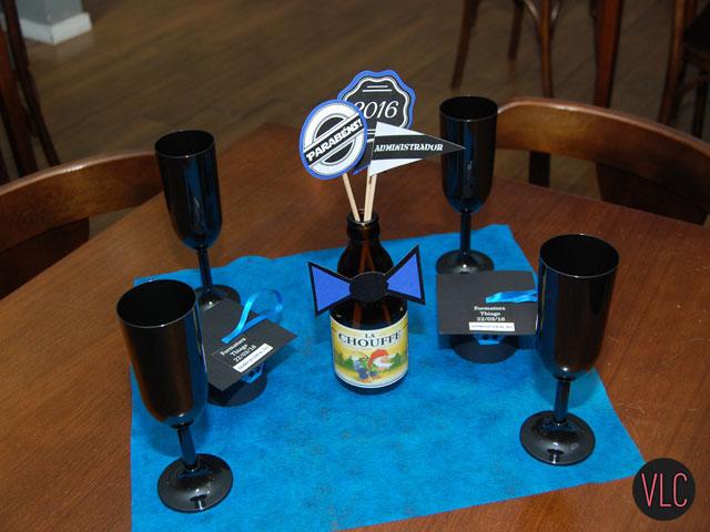 Fabuloso DIY: Enfeite de mesa simples e barato para formatura | Vida Louca  CX73