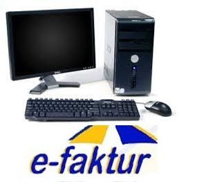 spesifikasi menjalankan e-faktur