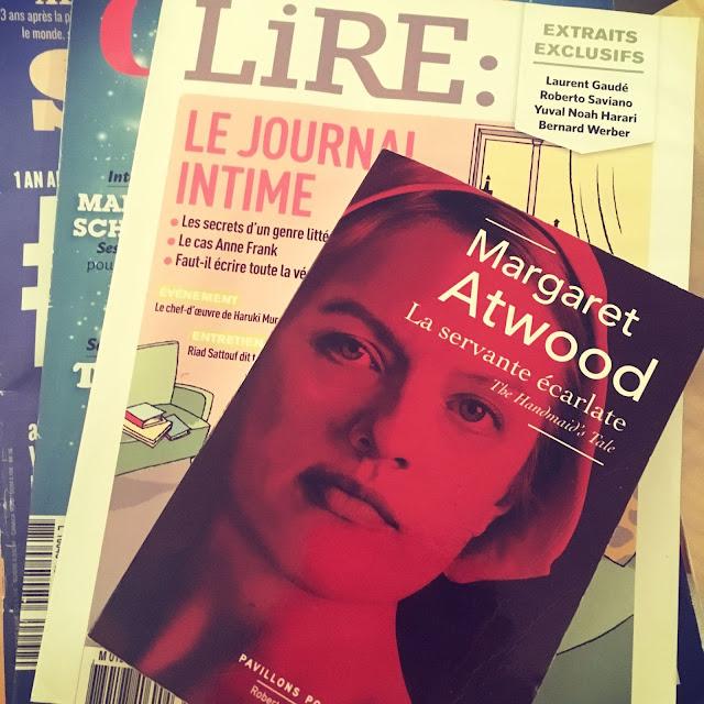 Chronique littéraire La servante écarlate par Mally's Books
