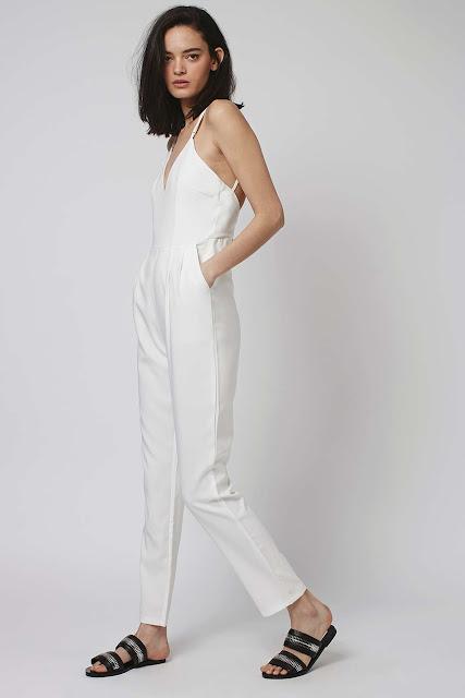 white jumpsuit glamorous,