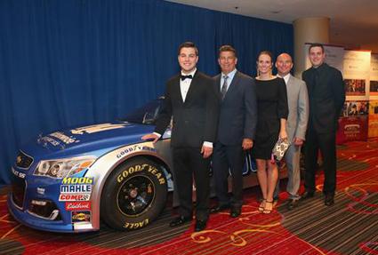 Andy Hoffman #Wins Betty Jane France Humanitarian Award - #NASCAR