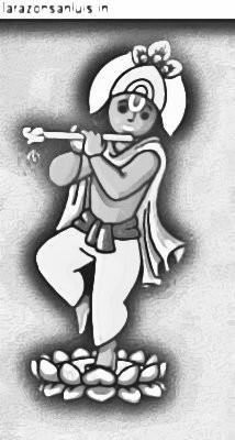 Janmashtami Drawing Pictures