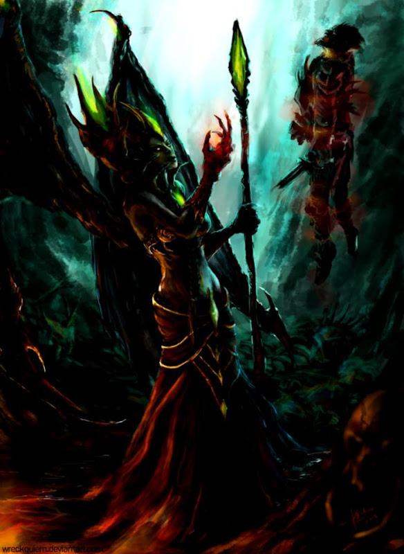 Wow Blood Queen Lanathel Wallpapers Warrior