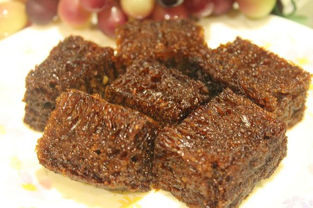 Kek Gula Hangus Azie Kitchen