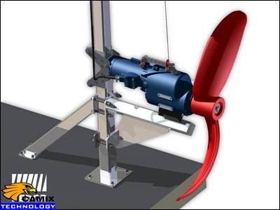 Công ty tư vấn mua sắm đầu tư thiết bị xử lý nước thải chế biến thủy sản - Máy khuấy chìm
