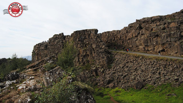 Þingvellir - Falla Almannagjá