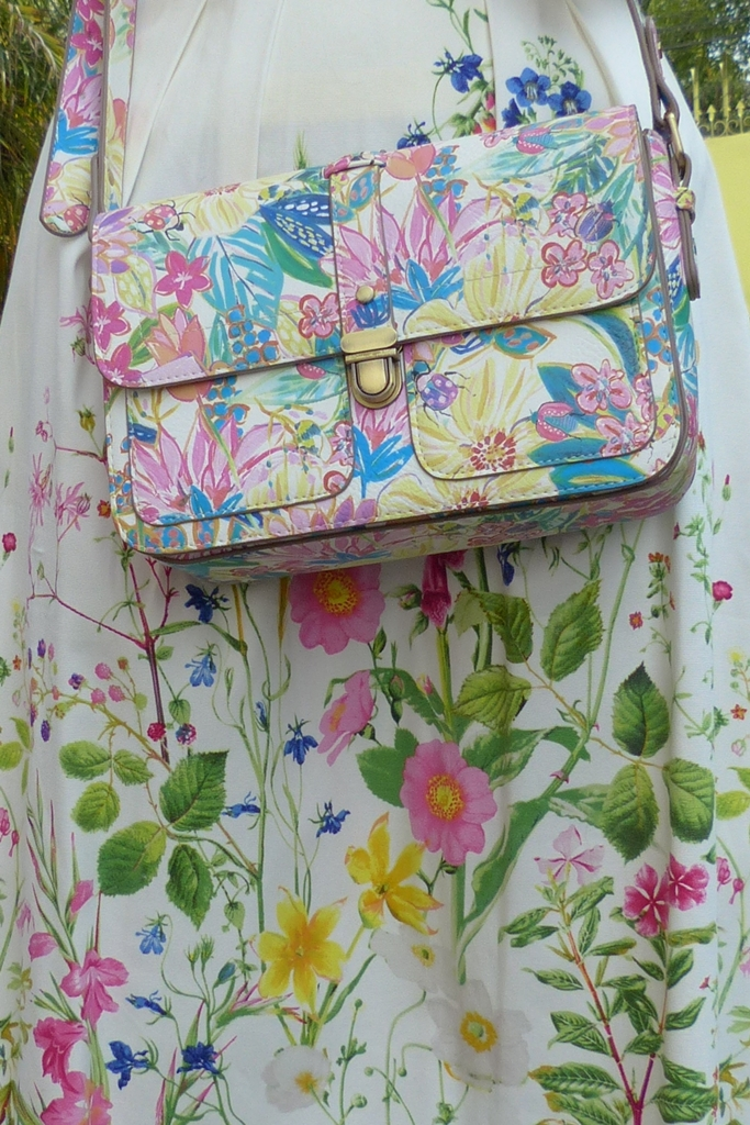 Monsoon floral print bag