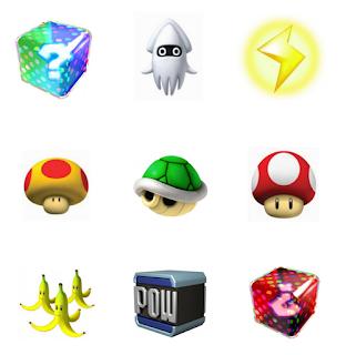 Mario Kart free printable memory game