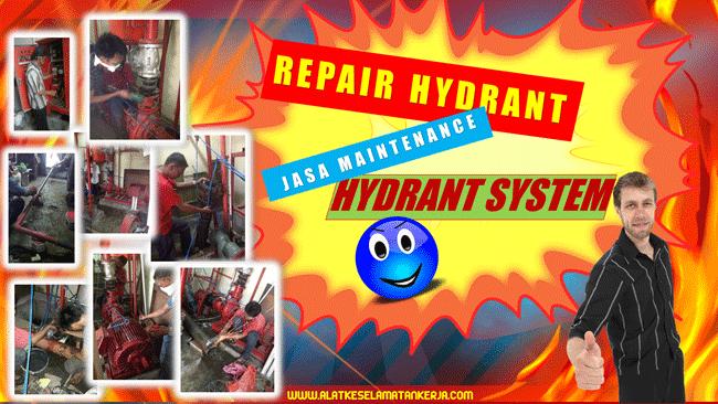 Jasa Perbaikan dan Maintenance Fire Hydrant System