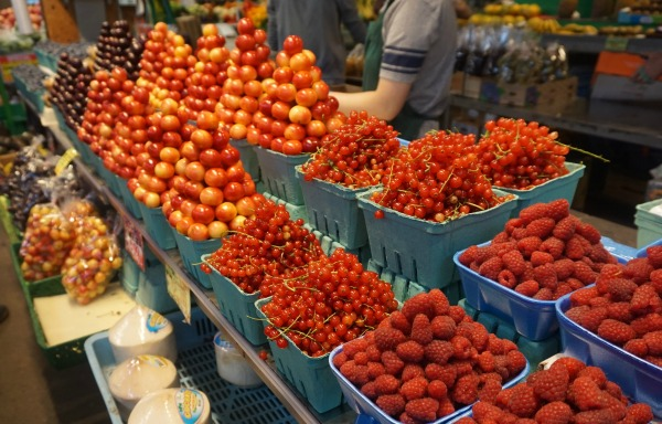 Granville Island - berries