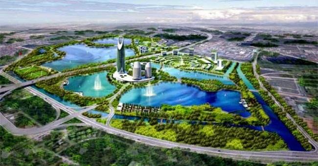 Gamuda City lấy công viên Yên Sở làm trung tâm