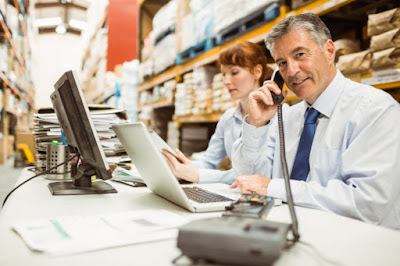 shipping and logistic data entry